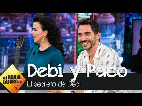Paco León confiesa cómo descubrió el secreto de Debi Mazar  El Hormiguero 3.0