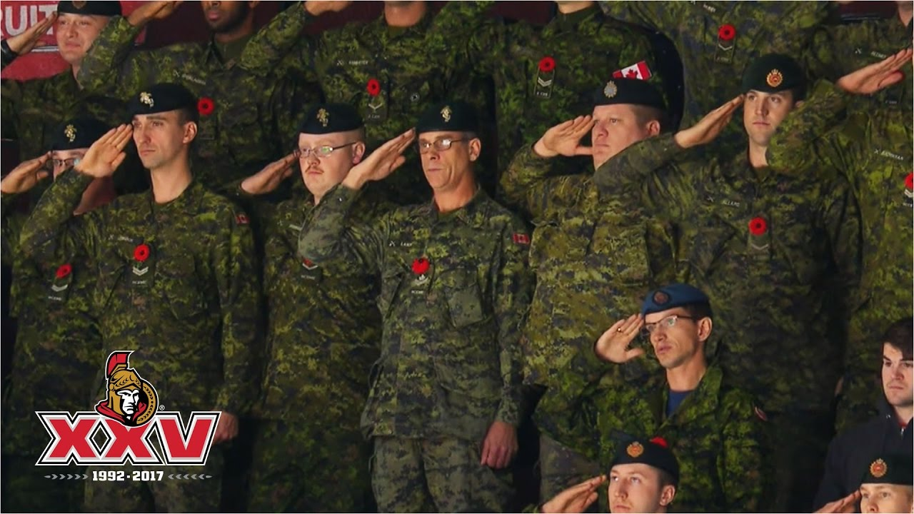 13th Annual Canadian Armed Forces Appreciation Night