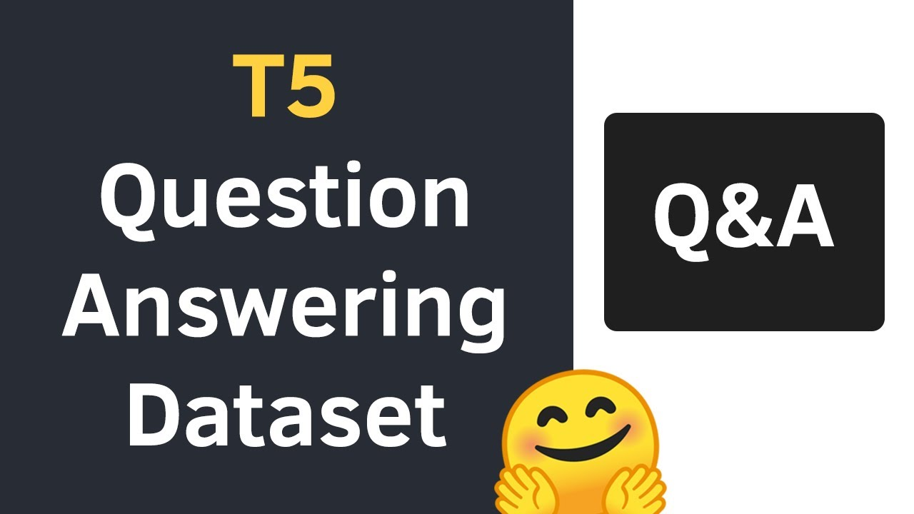 Create Custom Dataset for Question Answering with T5 using HuggingFace, Pytorch Lightning & PyTorch