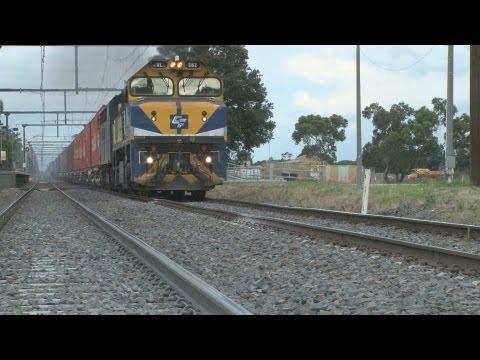 A sad excuse for a 115km/h main line  : Australian Railways ...   at their worst !