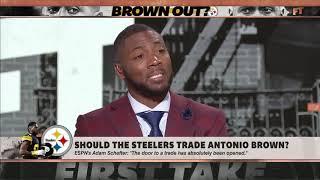 Should Antonio Brown be traded?