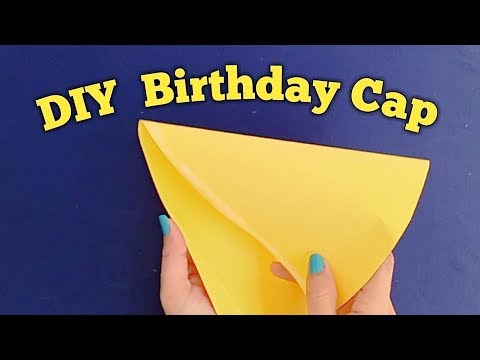 How to make birthday cap at home /DIY birthday cap ideas -Shamina's DIY