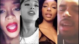 Celebrities singing with their REAL VOICE (Rihanna, Ariana Grande, SZA, Chris Brown, and more)