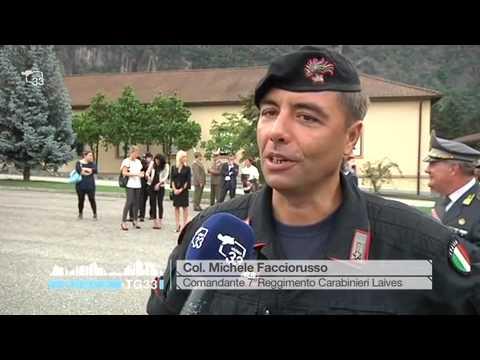 Cambio al vertice del Settimo Reggimento Carabinieri di Laives