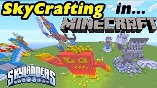 20 Skylanders Builds in Minecraft - Jet Vac, Whirlwind, Pop Fizz, Chop Chop, Prism Break + More