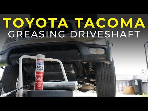 Repeat DIY: How to Lubricate the Propeller Shaft on a 2016 4Runner
