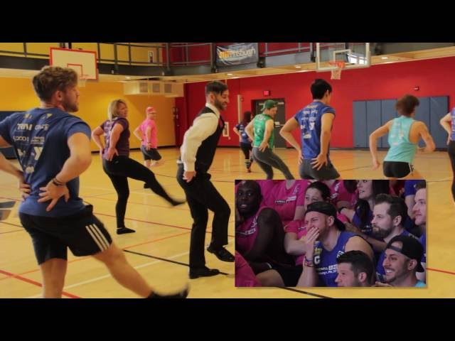 8ebd30bba84959 This Epic Dodgeball Flash Mob Wedding Proposal Will Give You ALL the Feels