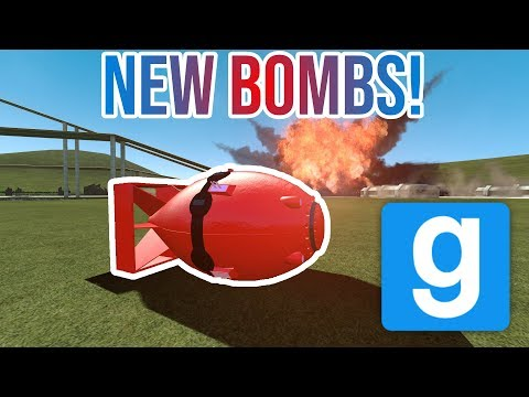 NEW NUKES?! Gmod Bomb Showcase! (hbombs Expansion)