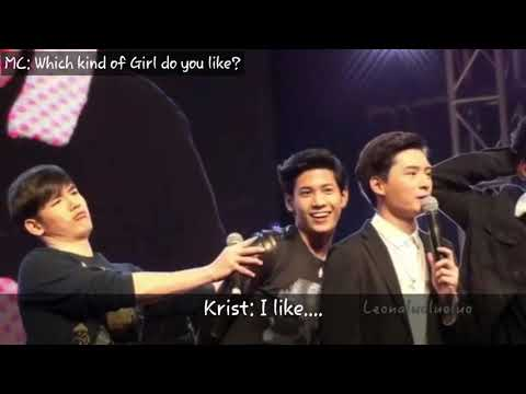 ( Engsub) Which kind of Girl do you like? - Krist SingTo