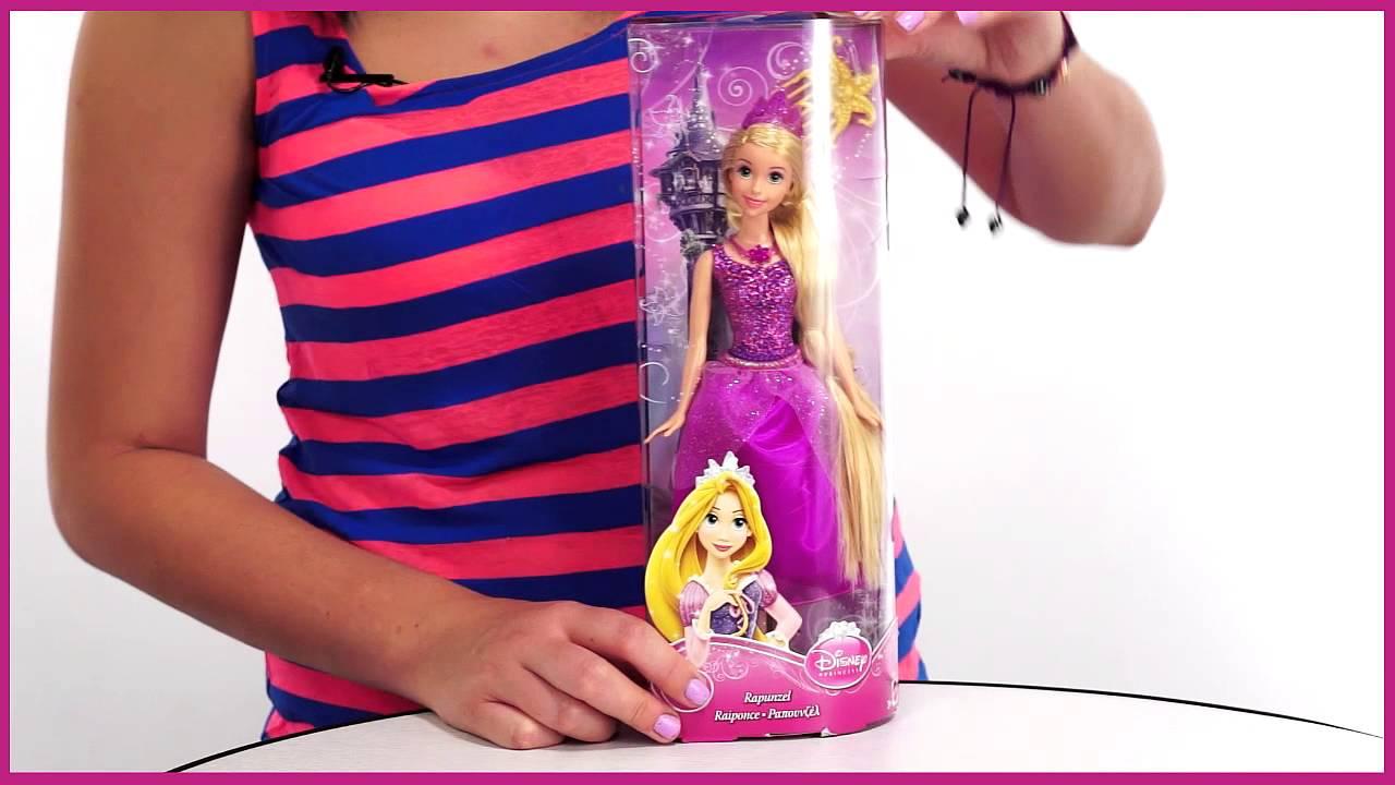 Кукла Рапунцель в детстве Дисней 40 см - купить куклу Рапунцель .