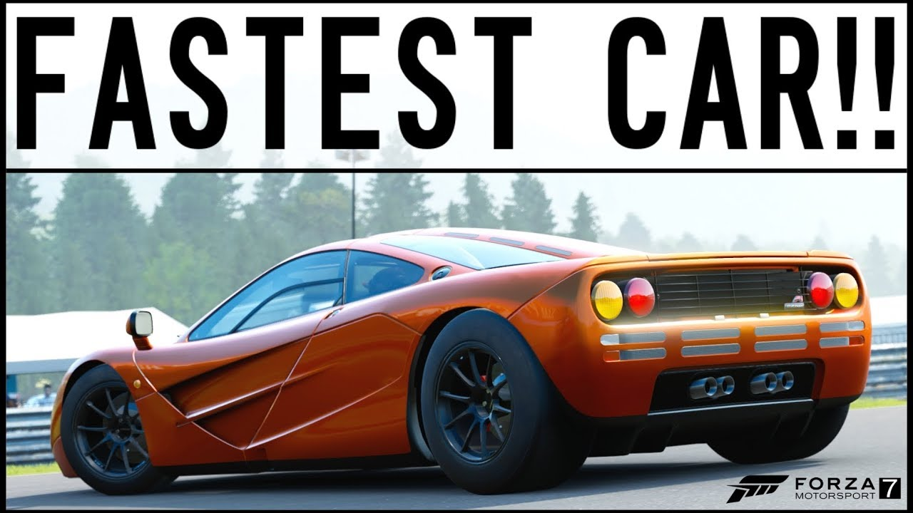 Cheapest Fastest Car In Forza Horizon
