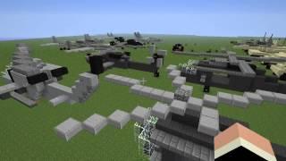 Обзор военной техники в Minecraft (Military Vehicles)