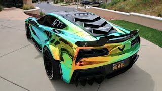 INSANE NEW $10,000 WRAP FOR THE WIDE-BODY CORVETTE!