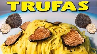Qual é o sabor da TRUFA? - Receita italiana de macarrão com trufas