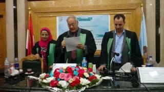 اعلان نتيجة مناقشة الزميلة العزيزة / نهي علاء الدين