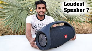Loudest Portable Speaker Ever by JBL Boombox Xtreme