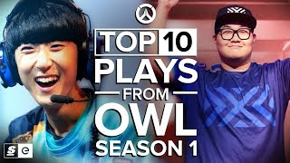 The Top 10 Plays from OWL Season 1