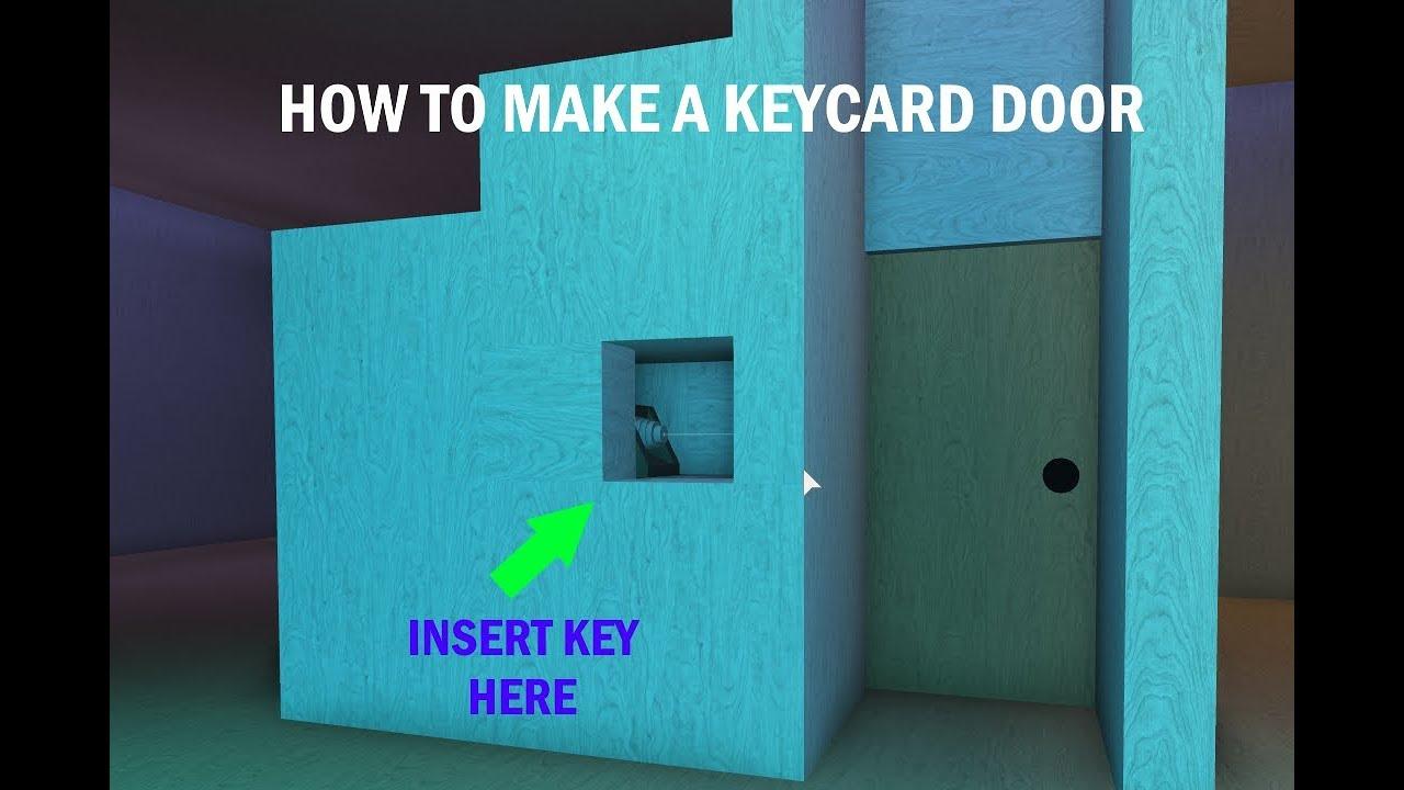 How To Build A Keycard Door Lumber Tycoon 2 - how to make a keycard door roblox