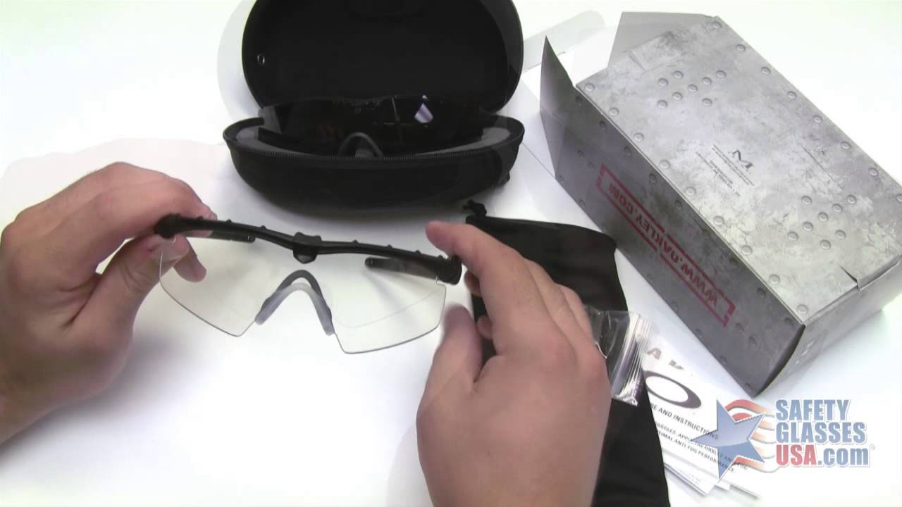 13d595076a Oakley SI Ballistic M Frame 2.0 Sunglasses Array Review - YouTube