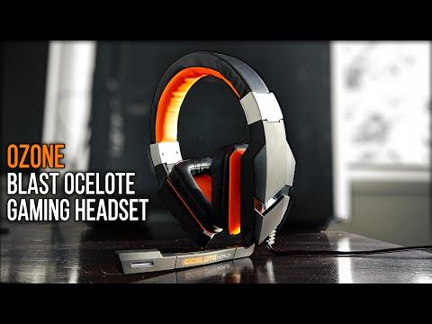 The Ozone Blast Ocelote - Gaming Headset