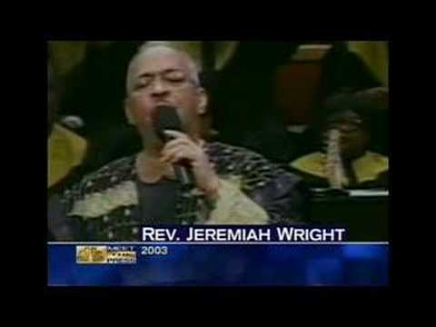 Obama and Rev. Wright