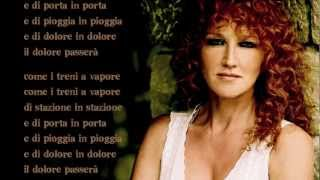 Fiorella Mannoia - I treni a vapore - Base musicale con testo