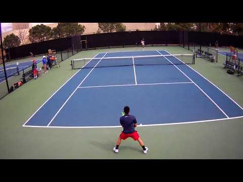 Salas Singles San Diego Match 1 Part 1 Spring Break