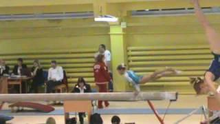 Orlova Aleksandra  Beam  Russian Championship . 2009