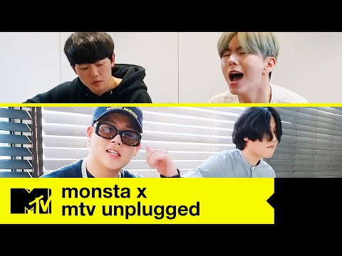 "MONSTA X (Live Acoustic) - ""Beside U"" + ""You Can't Hold My Heart"" 