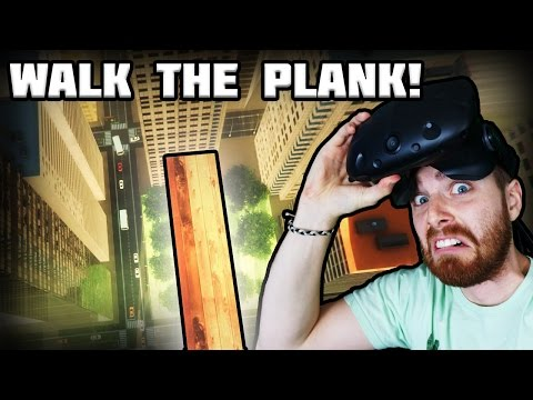 I'm AFRAID of HEIGHTS - Richie's Plank Experiment [HTC Vive]