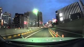 Tokyo night drive 4K SONY 2016
