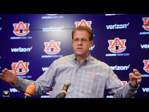 Auburn head coach Gus Malzahn previews Georgia