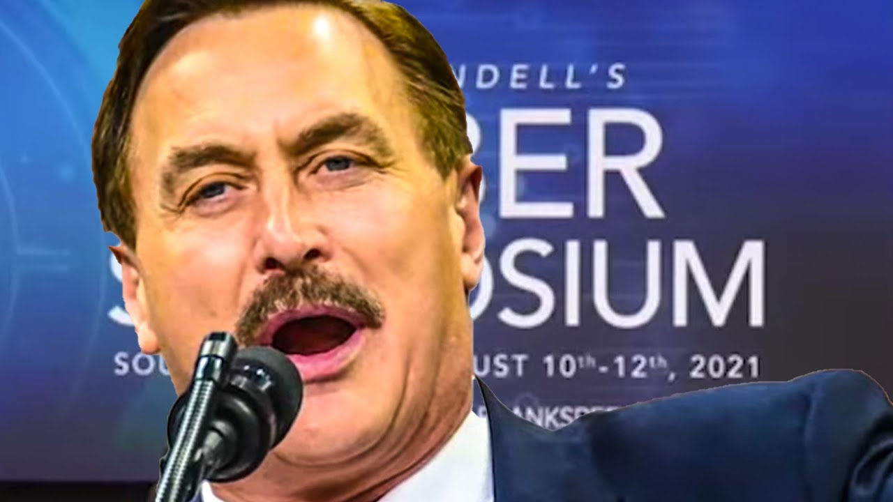 """Mike Lindell's South Dakota """"cyber symposium"""" has a bumpy launch ..."""