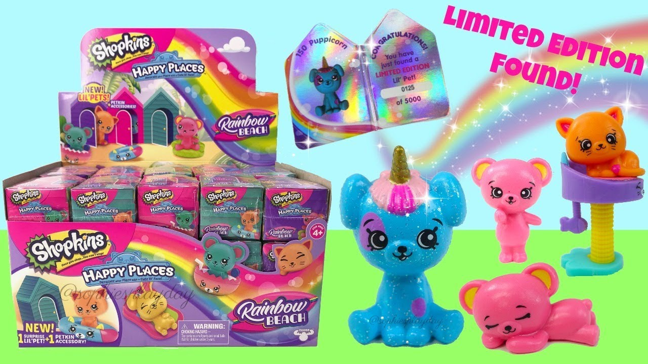 Other Interactive Toys Shopkins Happy Places Season 5 Rainbow Beach Blind Box