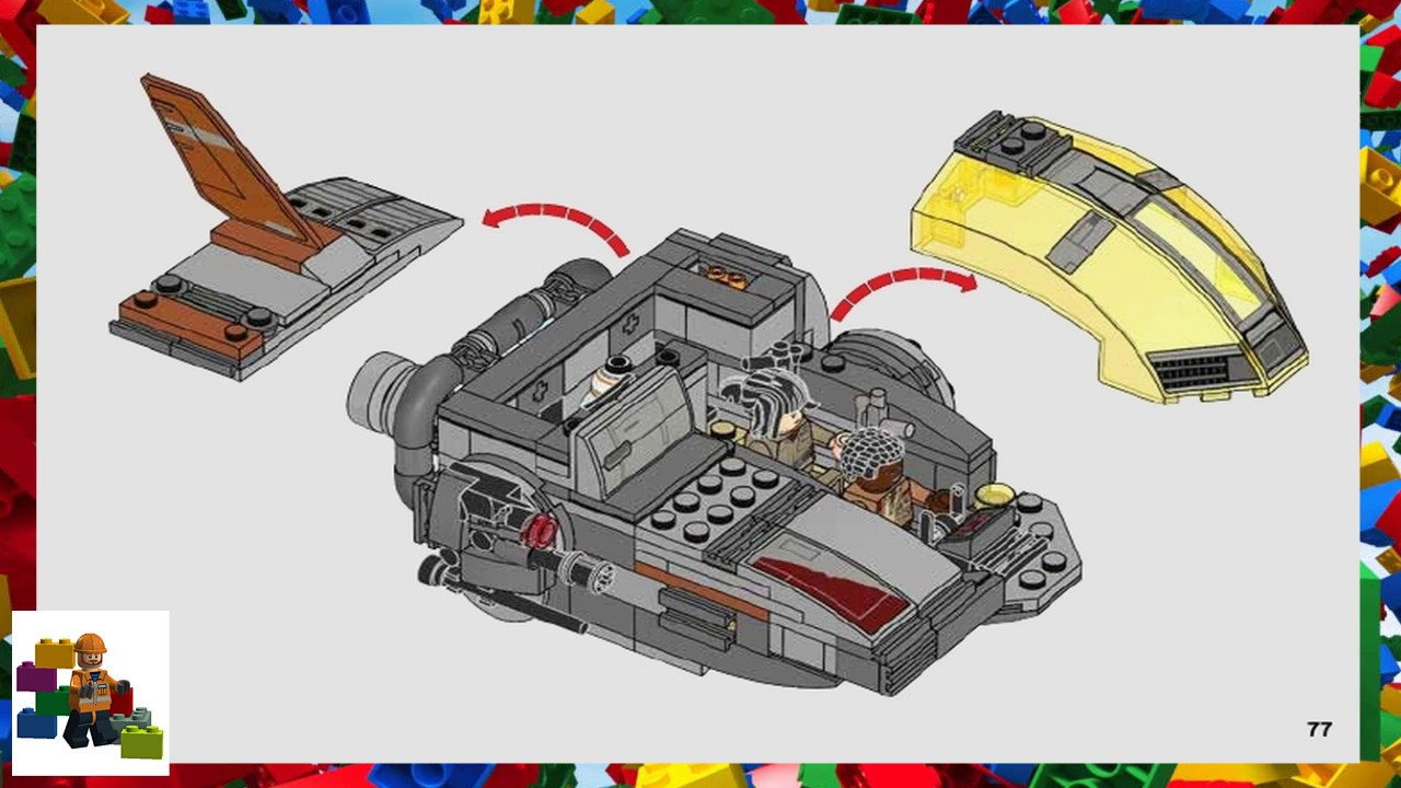 LEGO instructions - Star Wars - 75176 - Resistance Transport Pod