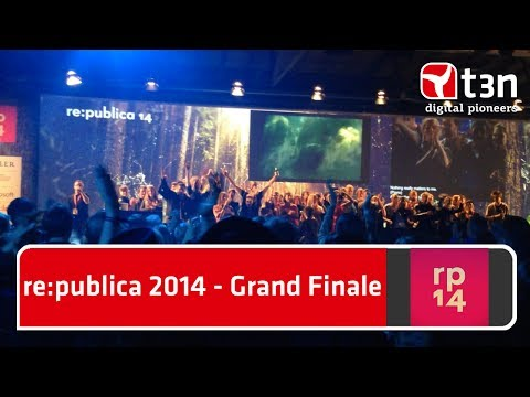 re:publica 2014 - Grand Finale (Bohemian-Rhapsody-Karaoke)