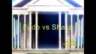 Fudo de Virgo vs Shaka de Virgo Saint Seiya -Hero Kibou no Uta-