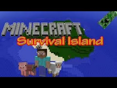 Minecraft (Xbox 360) SURVIVAL ISLAND SEED and Cool NPC ...