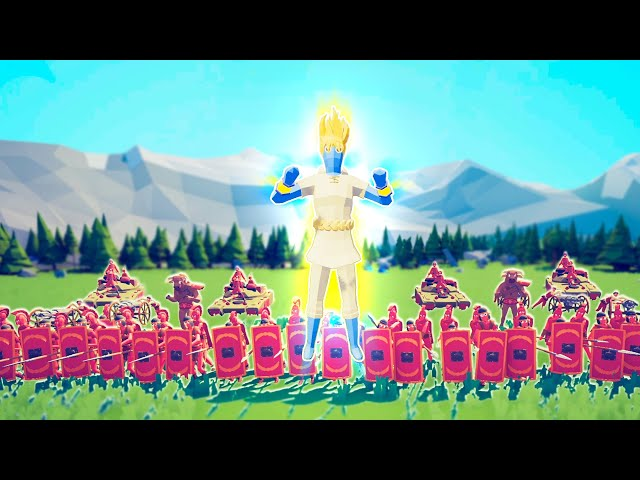 The SUPER PEASANT Is The MOST POWERFUL TABS Unit EVER in Totally Accurate Battle Simulator