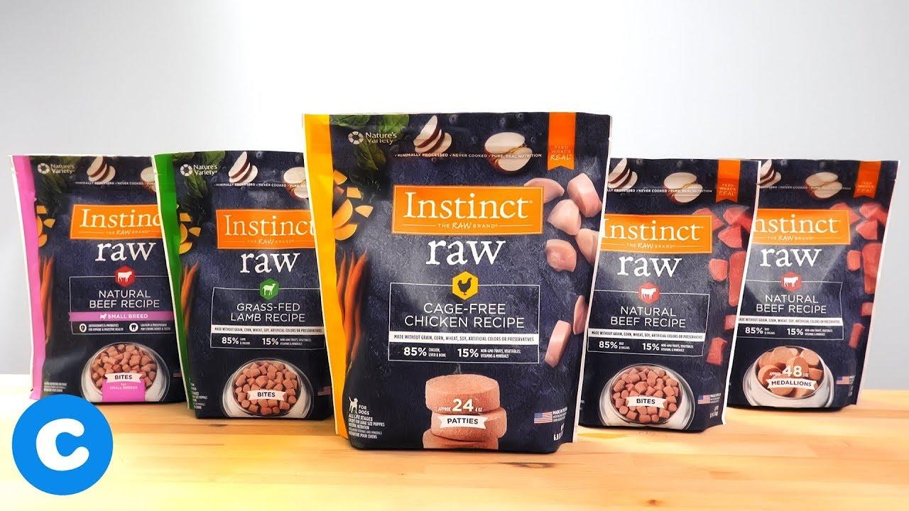 Instinct Raw Dog Food Chewy Youtube