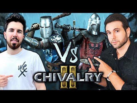 CHIVALRY 2 Willyrex Vs Vegetta777 ¿Quien ganara?