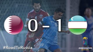 Qatar vs Uzbekistan (Asian Qualifiers – Road To Russia)(Egor Kremits' 85th minute header maintained Uzbekistan's perfect start to their campaign to qualify for Russia 2018 on Tuesday evening as the defender scored ..., 2016-09-06T18:23:53.000Z)