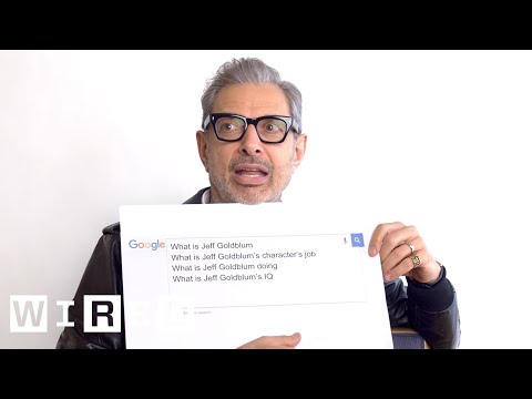 Jeff Goldblum Answers the Web's Most Searched Questions  WIRED