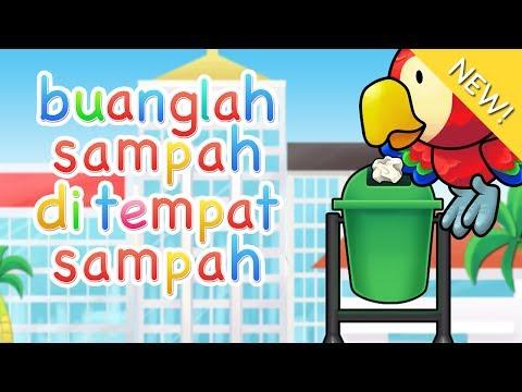 Lagu Anak Indonesia | Buanglah Sampah Di Tempat Sampah