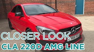 Closer Look: Mercedes Benz CLA 220D AMG Line Auto