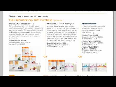 Becoming A Shaklee Member by Chase Swift