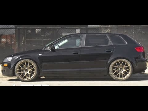 Audi A3 2 0t H Amp R Suspension Fitting Youtube