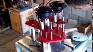 Станок сварочный для ПВХ профиля пневматический полуавтомат.(Станок предназначен для сварки ПВХ-профиля под углами от 40 до 180 град., имеет микропроцессорный контроль..., 2013-08-06T07:30:55.000Z)
