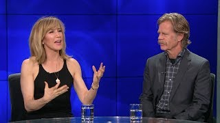 """William H Macy & Felicity Huffman on Working Together in """"Krystal"""""""