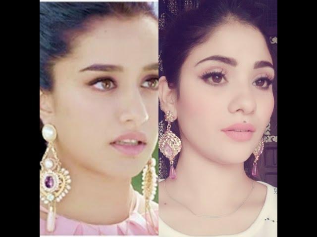shraddha Kapoor inspired makeup || half girlfriend || shy styles